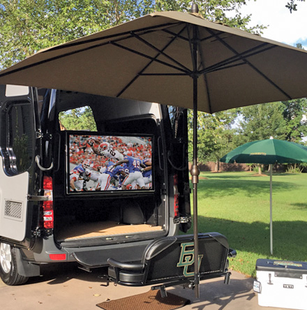 Tailgater TV & Tow Package